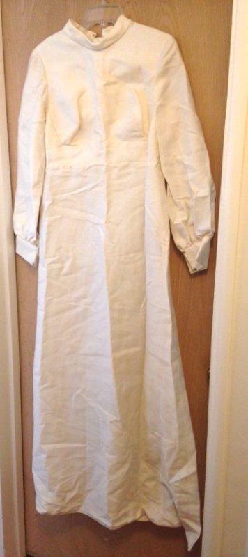Vintage 1971 Wedding Dress/Gown  Size:8