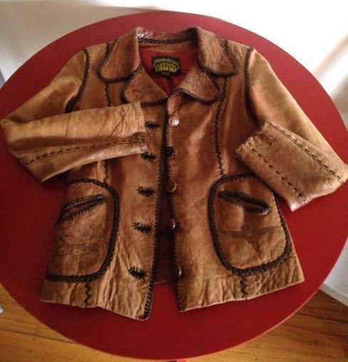 Vintage Women's North Beach Leather Jacket