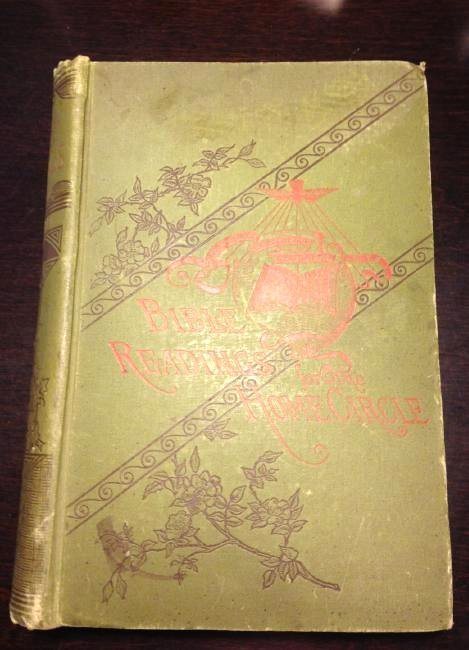 """Antique 1888 """"Bible Reading for the Home Circle"""""""