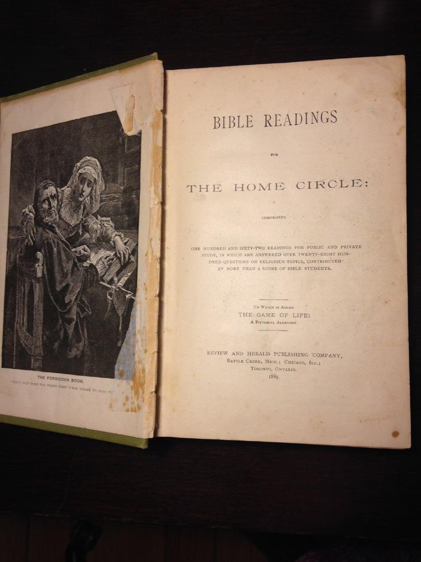 """Antique 1888 """"Bible Reading for the Home Circle"""" - 4"""