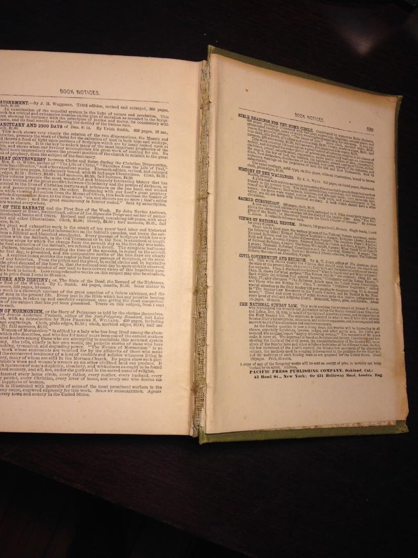 """Antique 1888 """"Bible Reading for the Home Circle"""" - 5"""