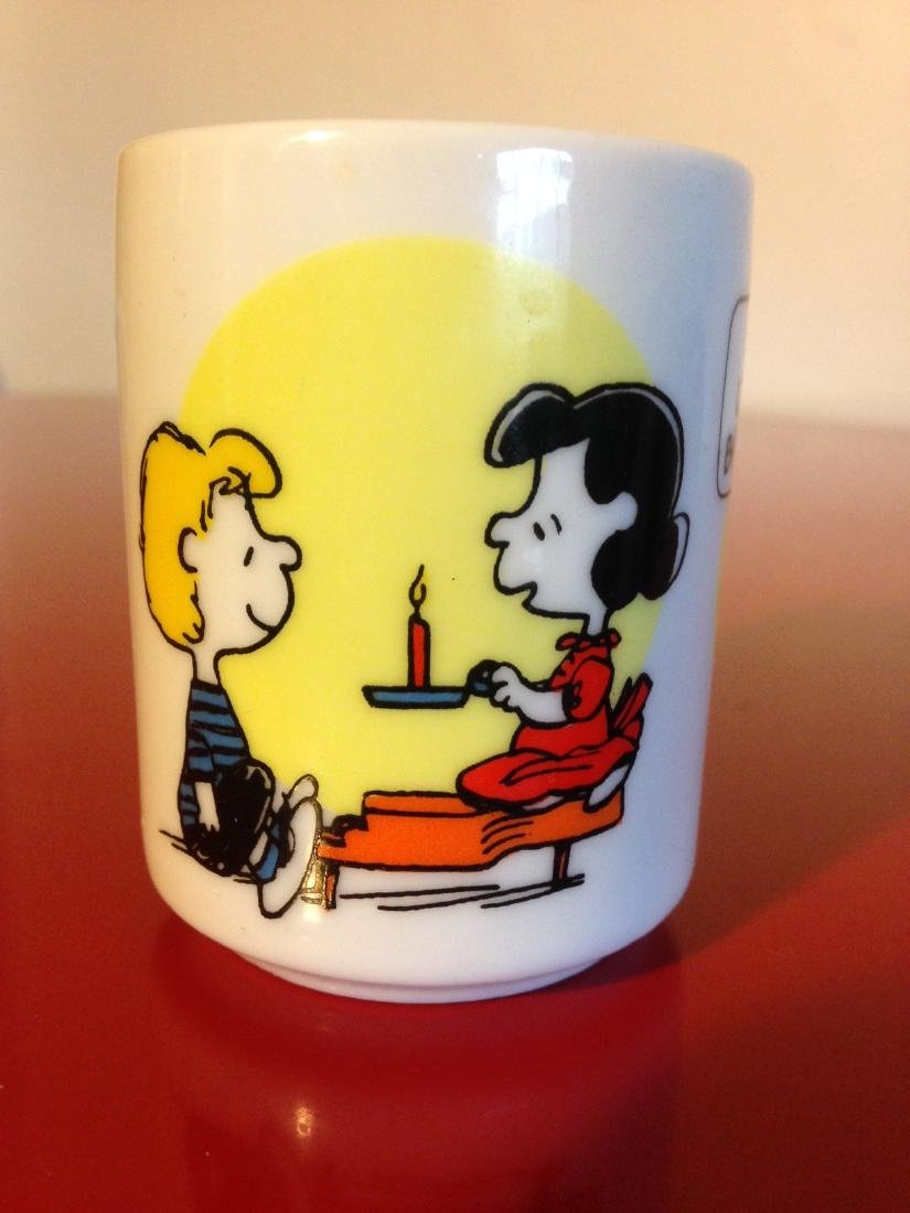 Vintage Snoopy Ceramic Candle Holder by Hallmark - 4
