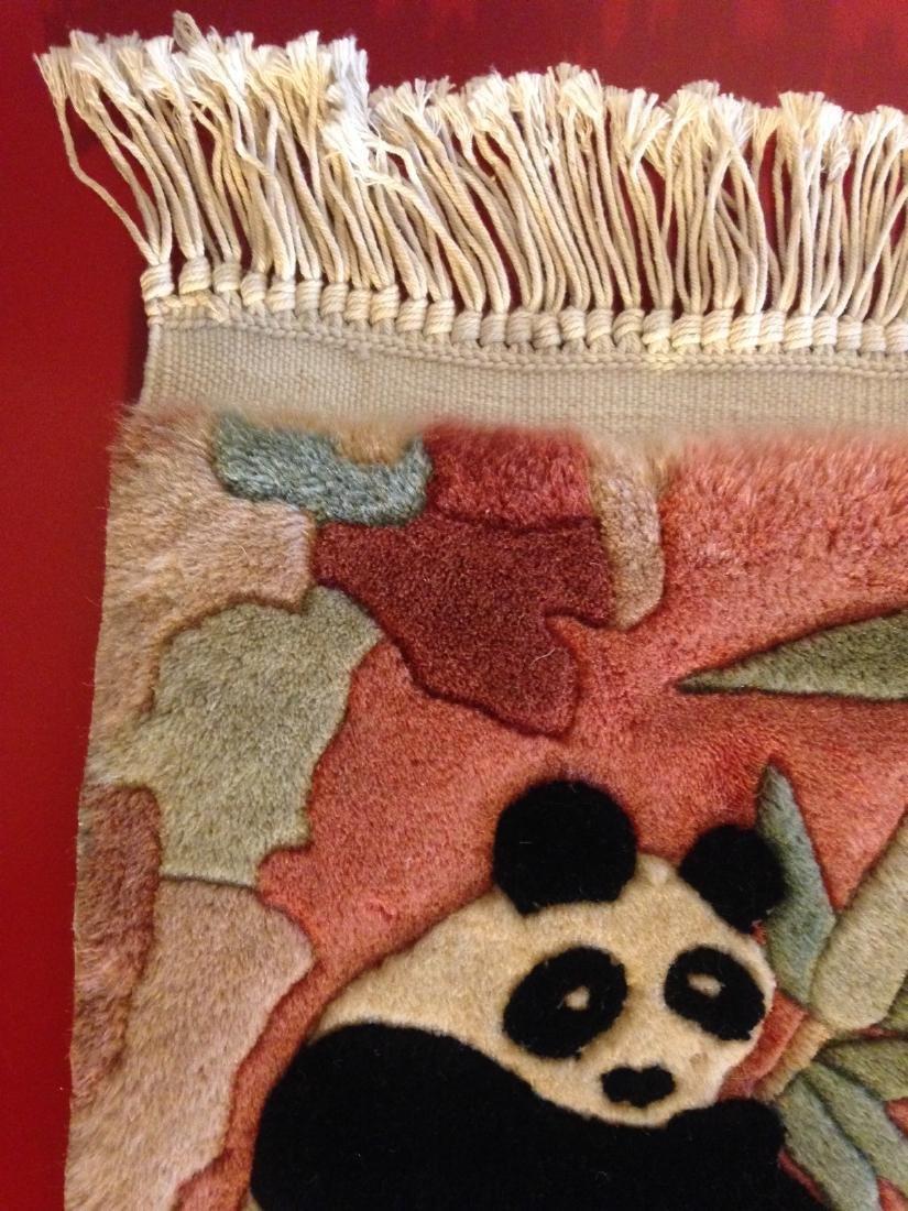 Wall Hanging Tapestry Rug w/ Panda Bear - 5