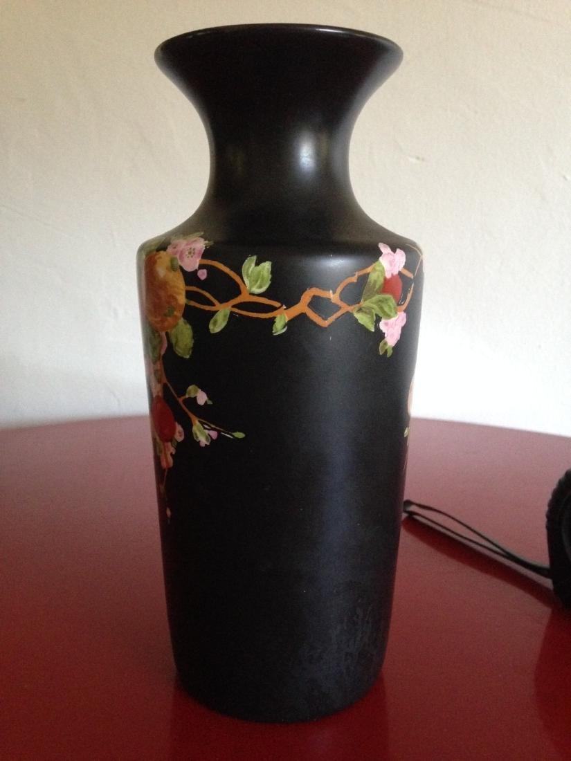 Vintage Porcelain Ducal Ware Vase w/ Bird Scene - 3