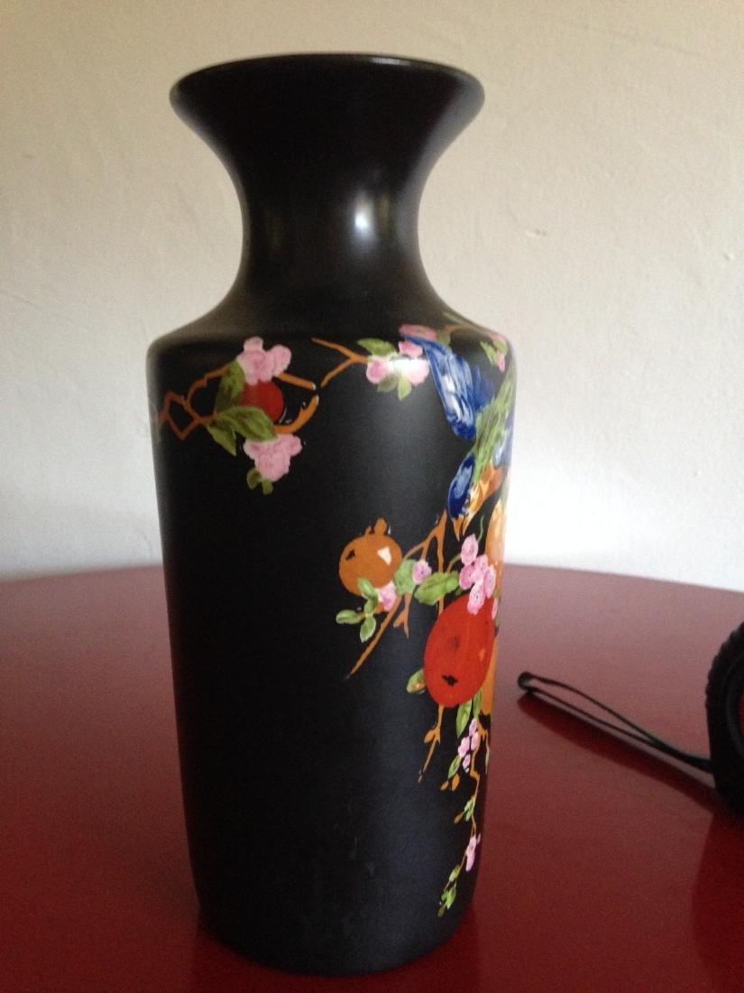 Vintage Porcelain Ducal Ware Vase w/ Bird Scene - 4
