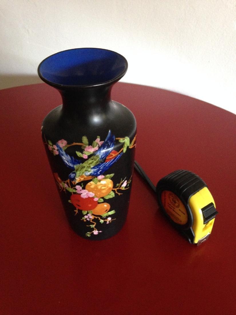 Vintage Porcelain Ducal Ware Vase w/ Bird Scene - 8