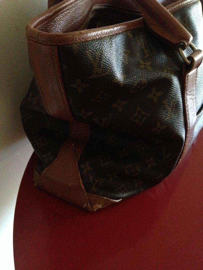 Vintage Louis Vuitton Leather Handbag w/ Stamp - 2