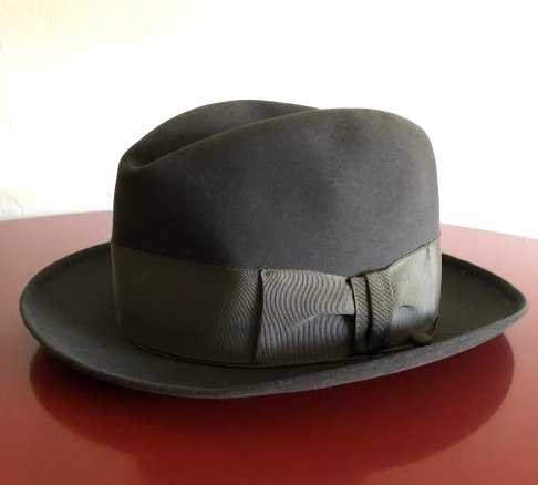 Vintage 1950 s Stetson Hat 3x Beaver Quality by Moore s 3a465210c67