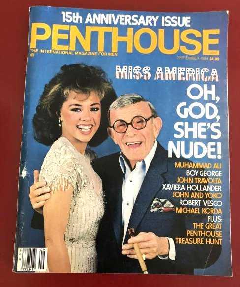 penthouse magazine 9-84 Vanessa Williams Hyapatia Lee