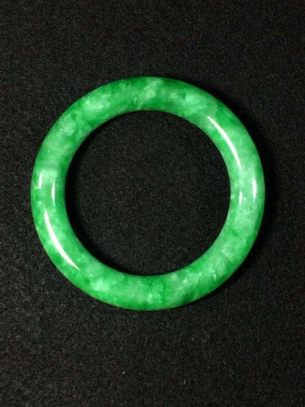 Chinese green jadeite like store bangle bracelet