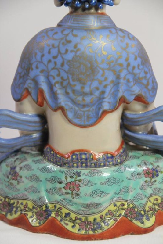 Chinese antique porcelain Buddha - 10