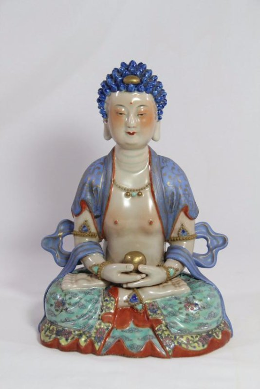 Chinese antique porcelain Buddha