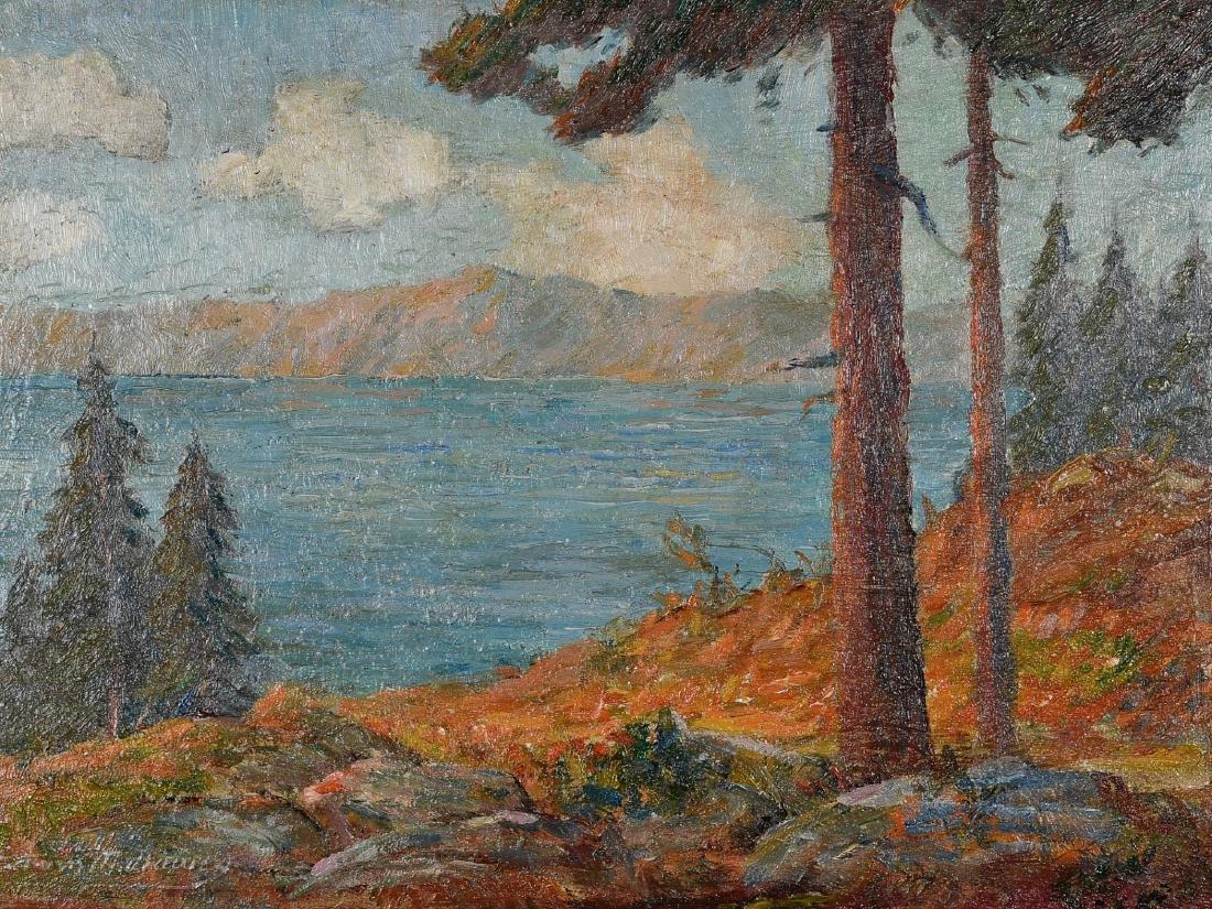 "Edwin M. Dawes, American, 1872-1945, ""Lake Tahoe"""