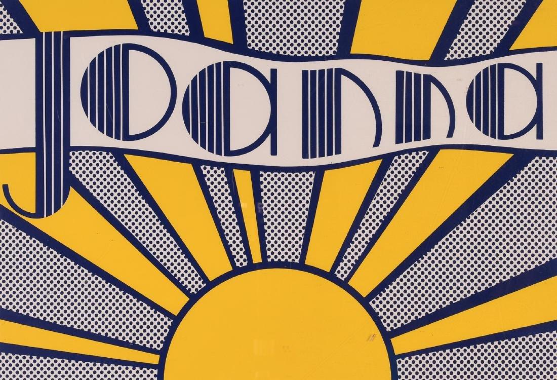 """Roy Lichtenstein, """"Joanna"""""""
