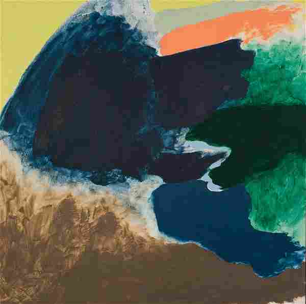 Friedel Dzubas, American, 1915-1994, acrylic on canvas