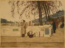 Tavik Frantisek Simon 18771942 aquatint