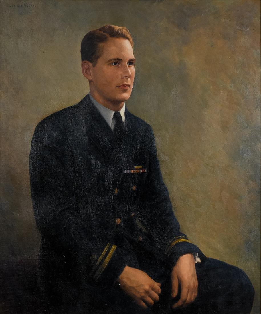 Ivan Olinsky (1878-1948), Oil on Canvas Painting