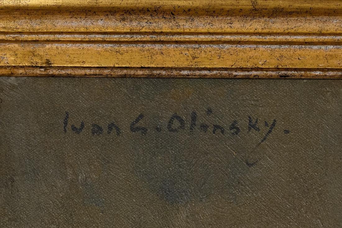 Ivan Olinsky (1878-1948), Oil on Canvas Painting - 3