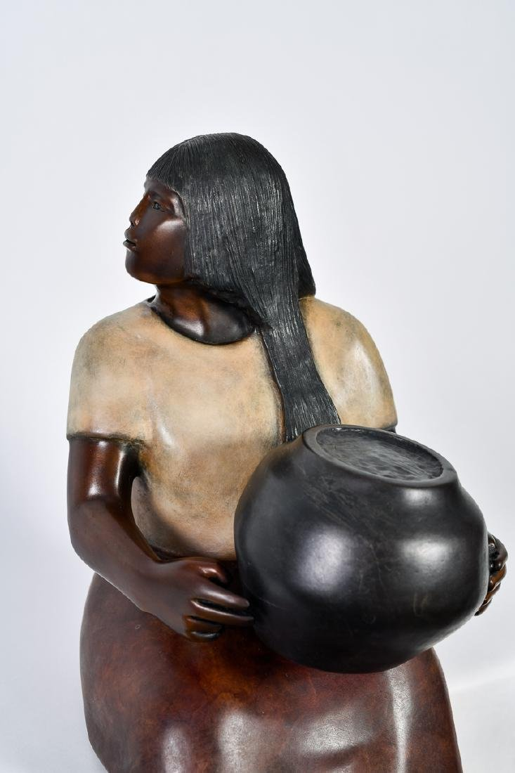 "Doug Hyde, ""Laguna Potter,"" Bronze Sculpture - 2"