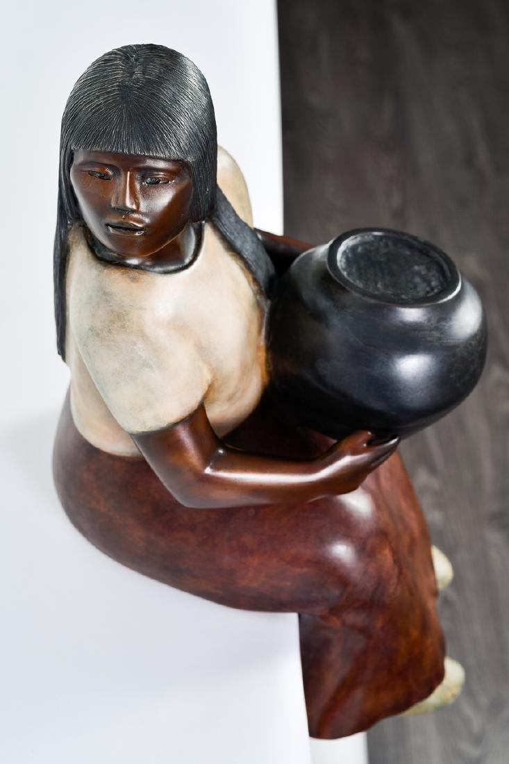 "Doug Hyde, ""Laguna Potter,"" Bronze Sculpture - 3"