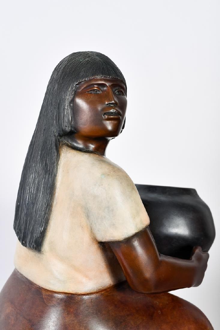 "Doug Hyde, ""Laguna Potter,"" Bronze Sculpture - 4"