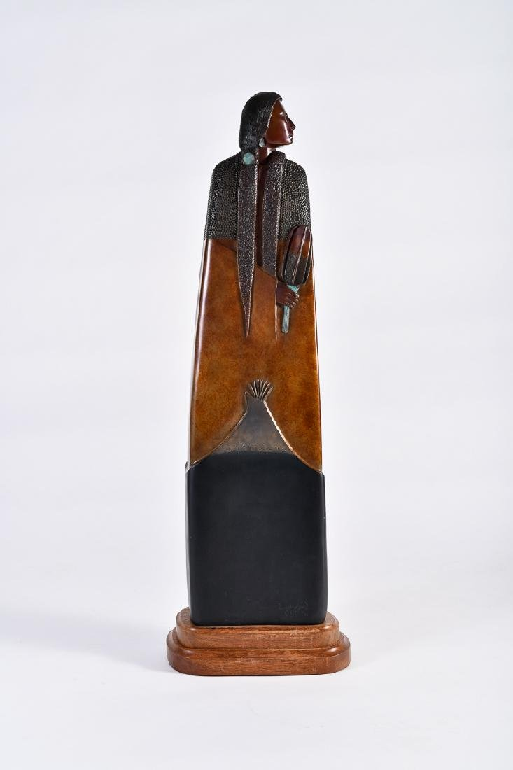 Larry Yazzie, Bronze Sculpture