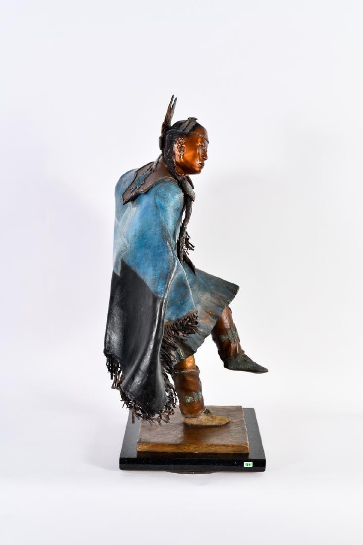 "Oreland Joe, ""Night Star,"" Bronze Sculpture - 2"