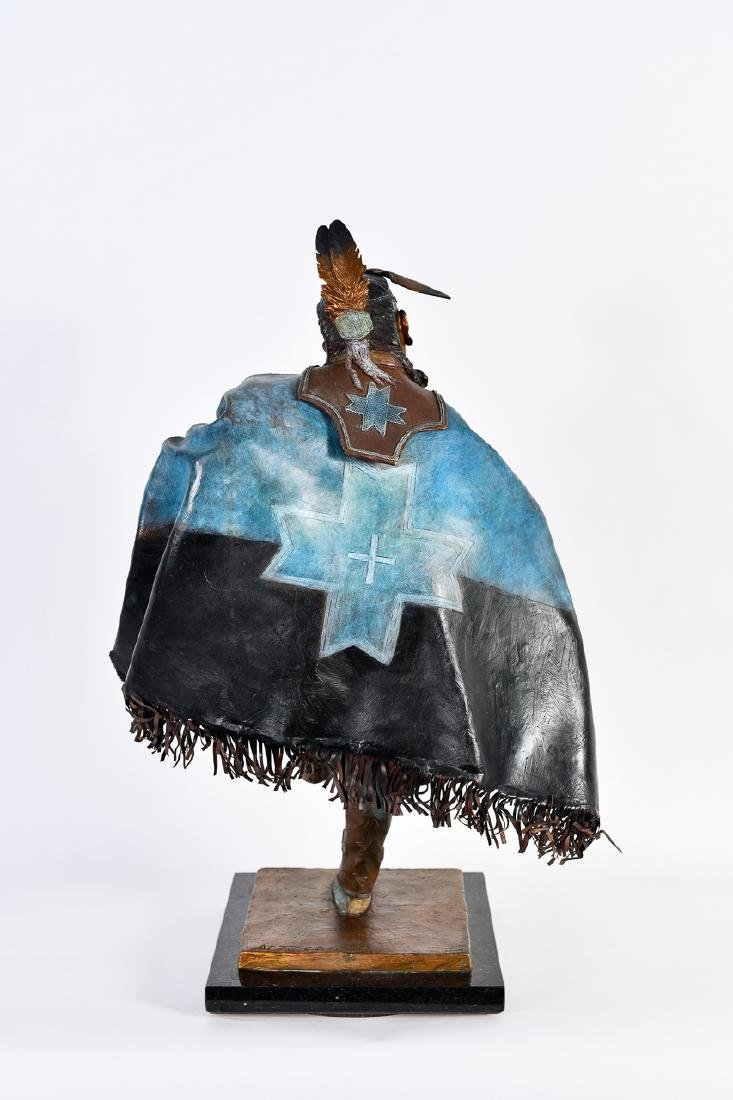 "Oreland Joe, ""Night Star,"" Bronze Sculpture - 3"