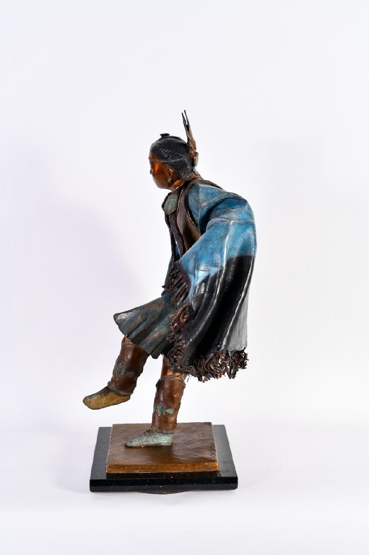 "Oreland Joe, ""Night Star,"" Bronze Sculpture - 5"
