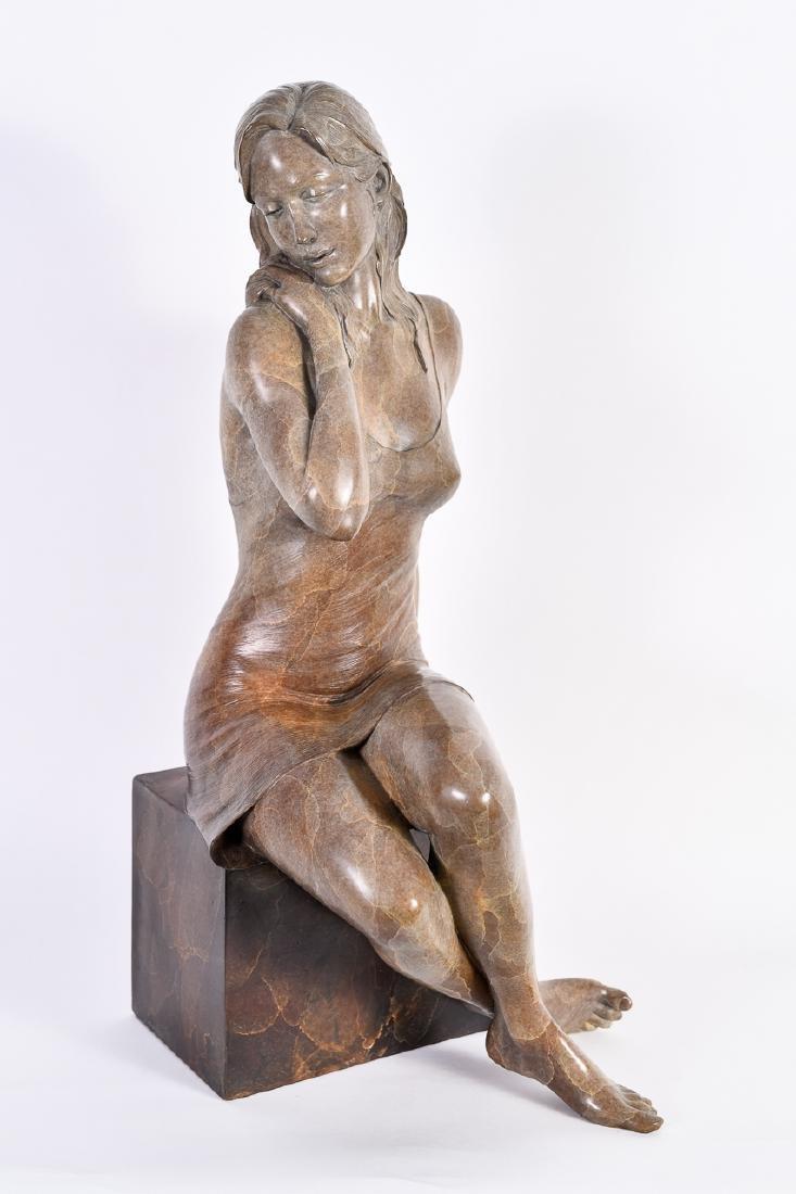 "Rodd Ambroson, ""Serenity,"" Bronze Sculpture"