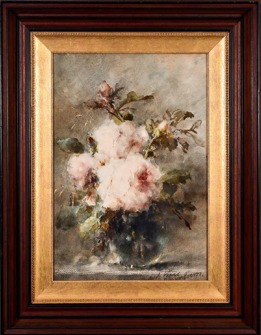 Margaretha Roosenboom, Watercolor/Gouache Ptg.