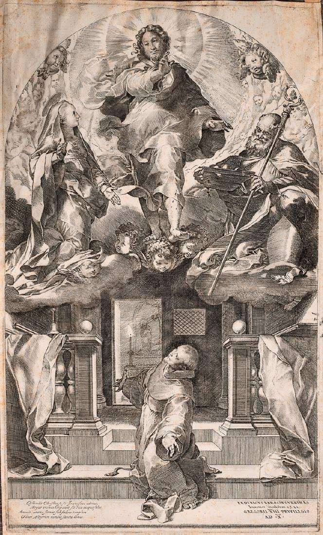 Federico Barocci, Engraving on Paper