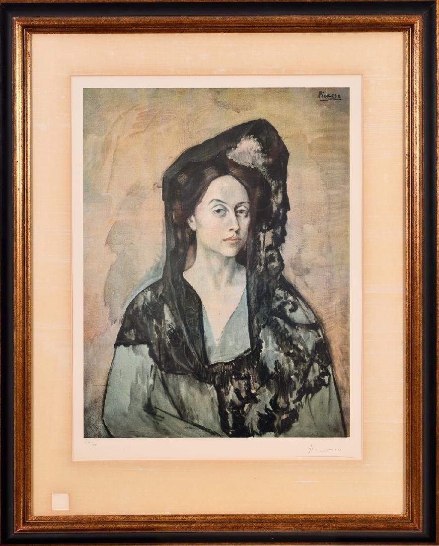 After Pablo Picasso, Color Lithograph