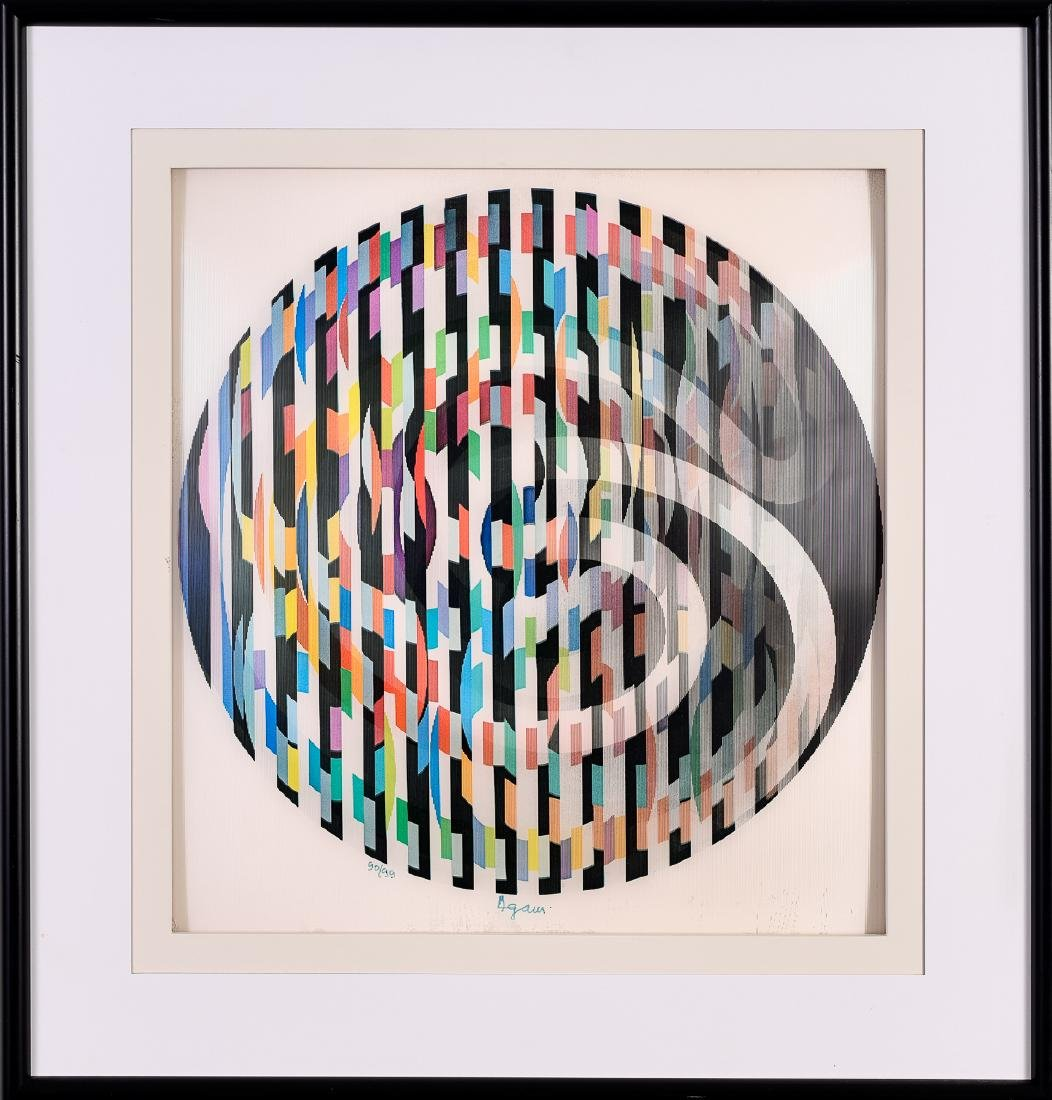 Yaacov Agam (b. 1928), Op-Art Signed and Numbered