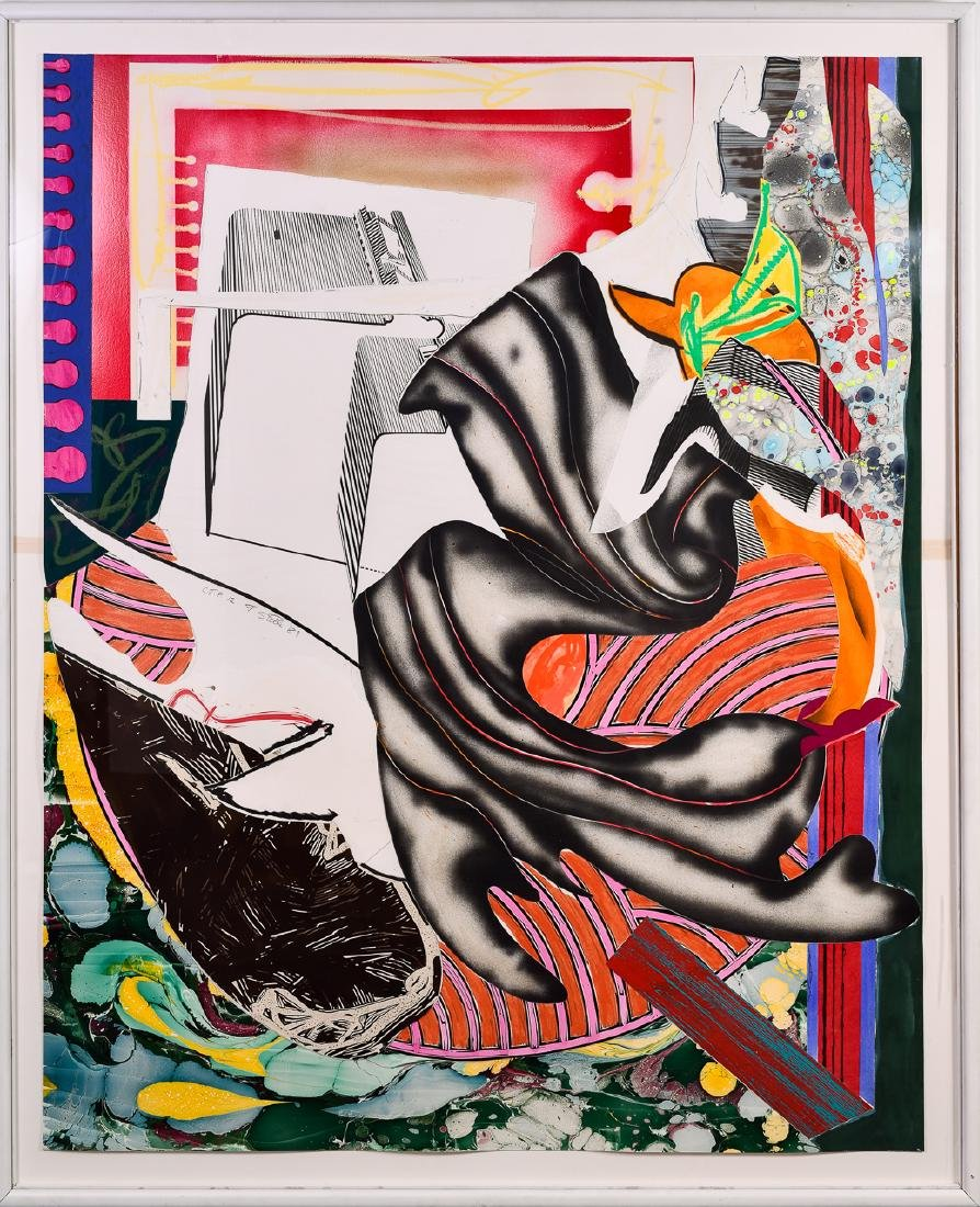 Frank Stella (b. 1936), Wave Series II Moby Dick CTP 12