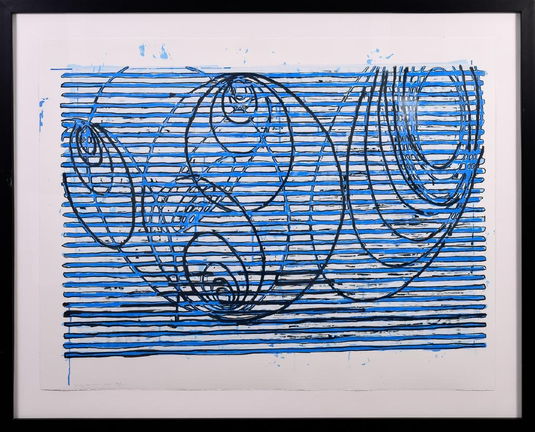 "Terry Winters, ""Untitled,"" Screenprint, 1999"