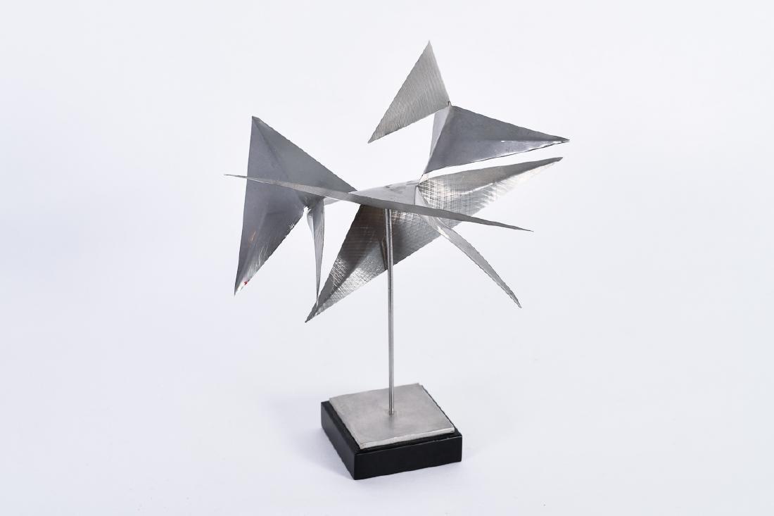 "George Rickey, ""Untitled,"" Steel Sculpture"
