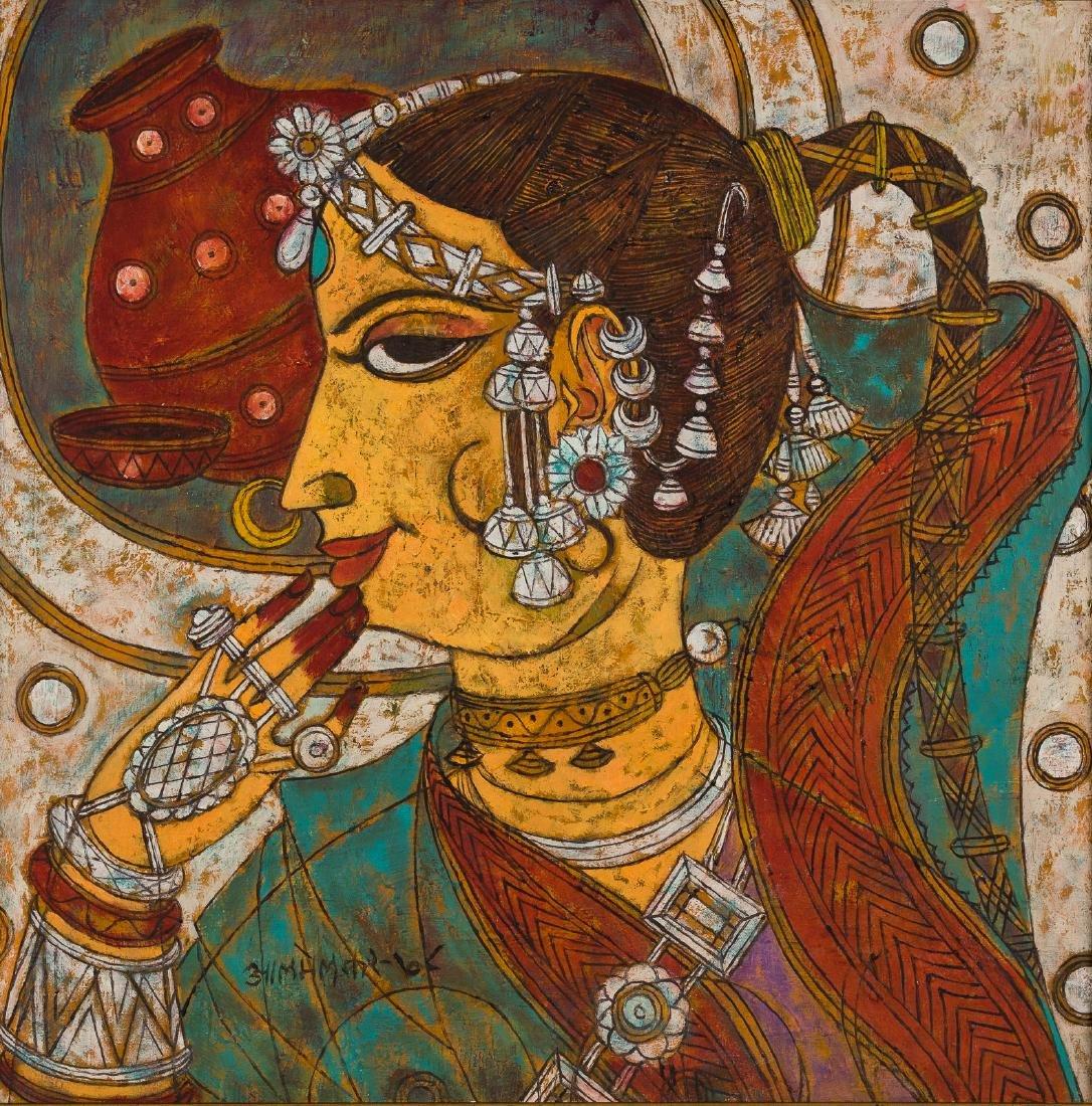 Abdul Rahiman Appabhai Almelkar, Oil on Canvas