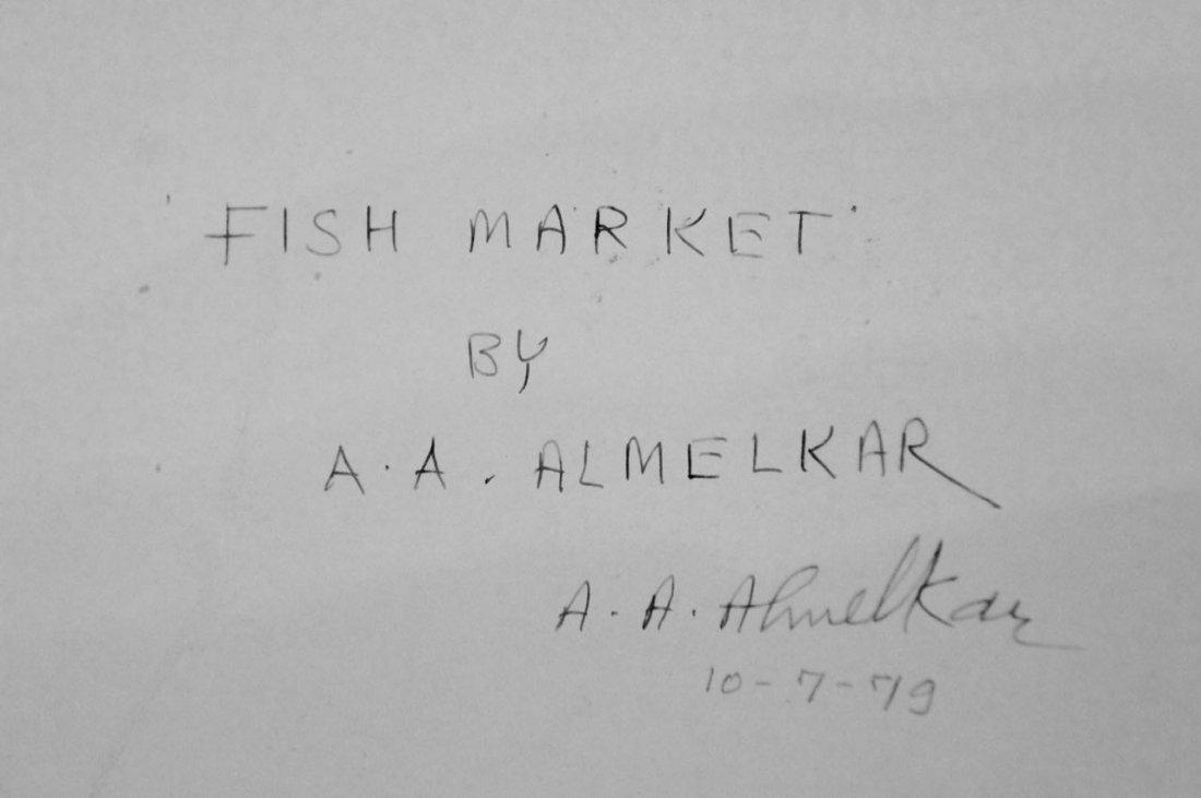 Abdul Almelkar, Ink, Pastel and Gouache Painting - 4
