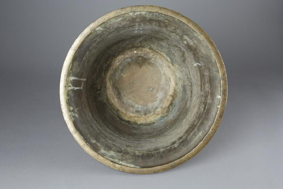 20th C. Chinese Cast bronze Planter - 8