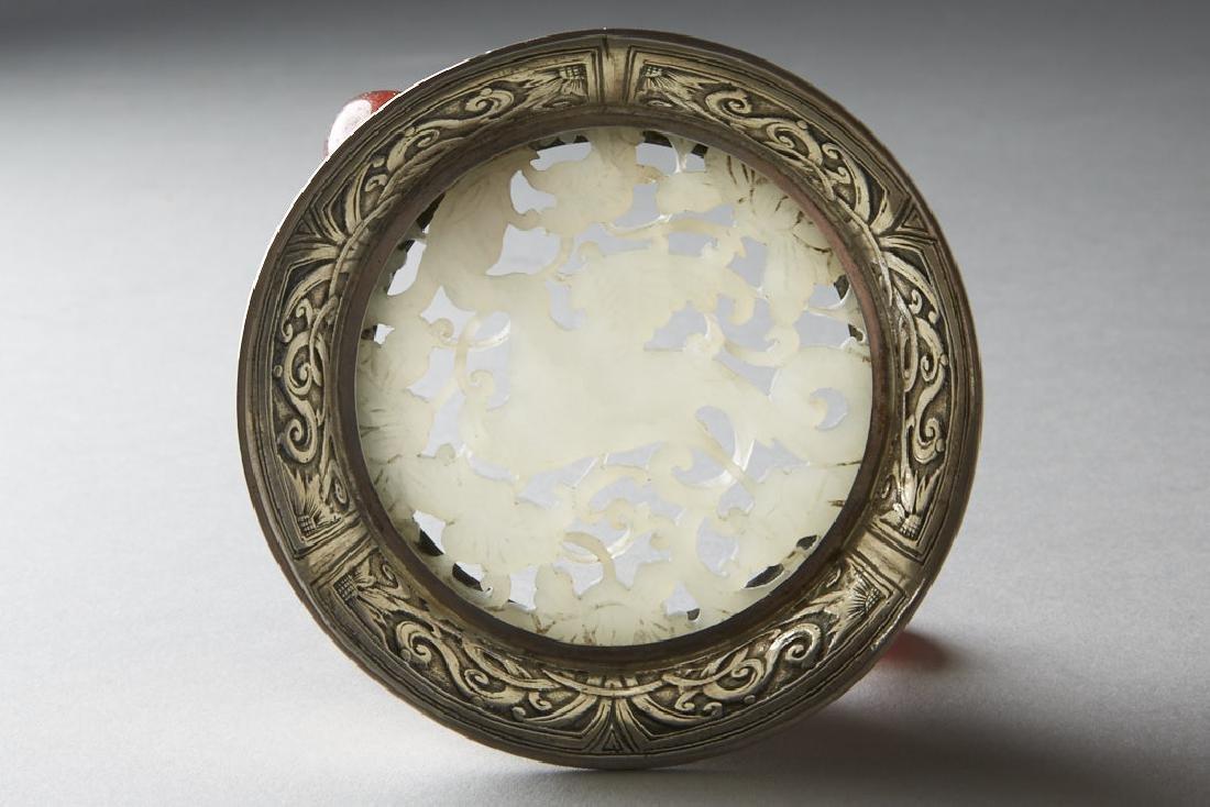 Chinese Qing White Jade Plaque - Edward Farmer-BTC Acpt - 2
