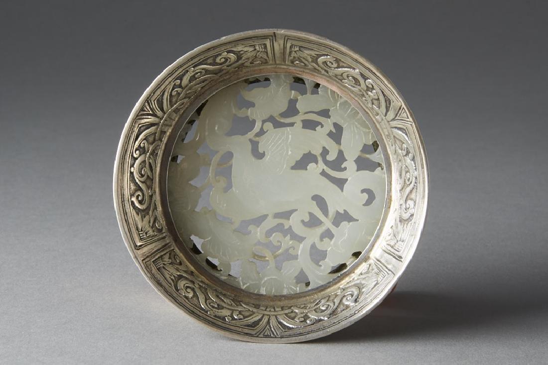 Chinese Qing White Jade Plaque - Edward Farmer-BTC Acpt - 5