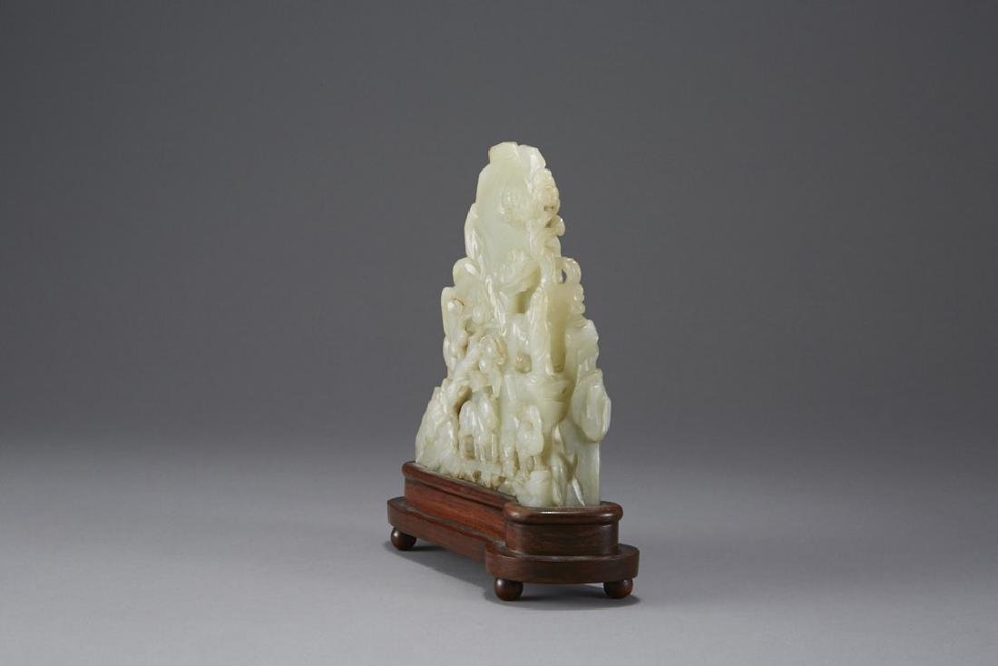Chinese Carved Jade Mountain - Well Provenanced - 7
