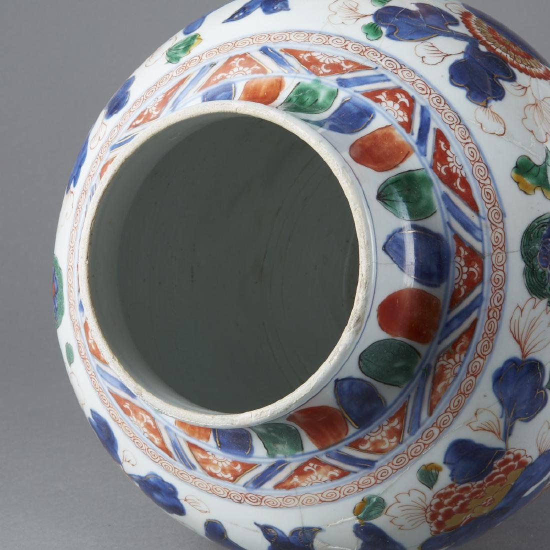 Chinese Ming Porcelain Jar for Mexican Market-BTC Acpt - 6