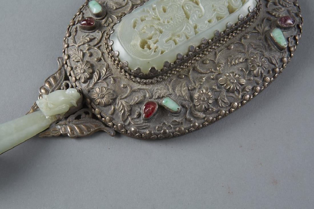 Chinese Enameled Silver Objects Inlay - 10