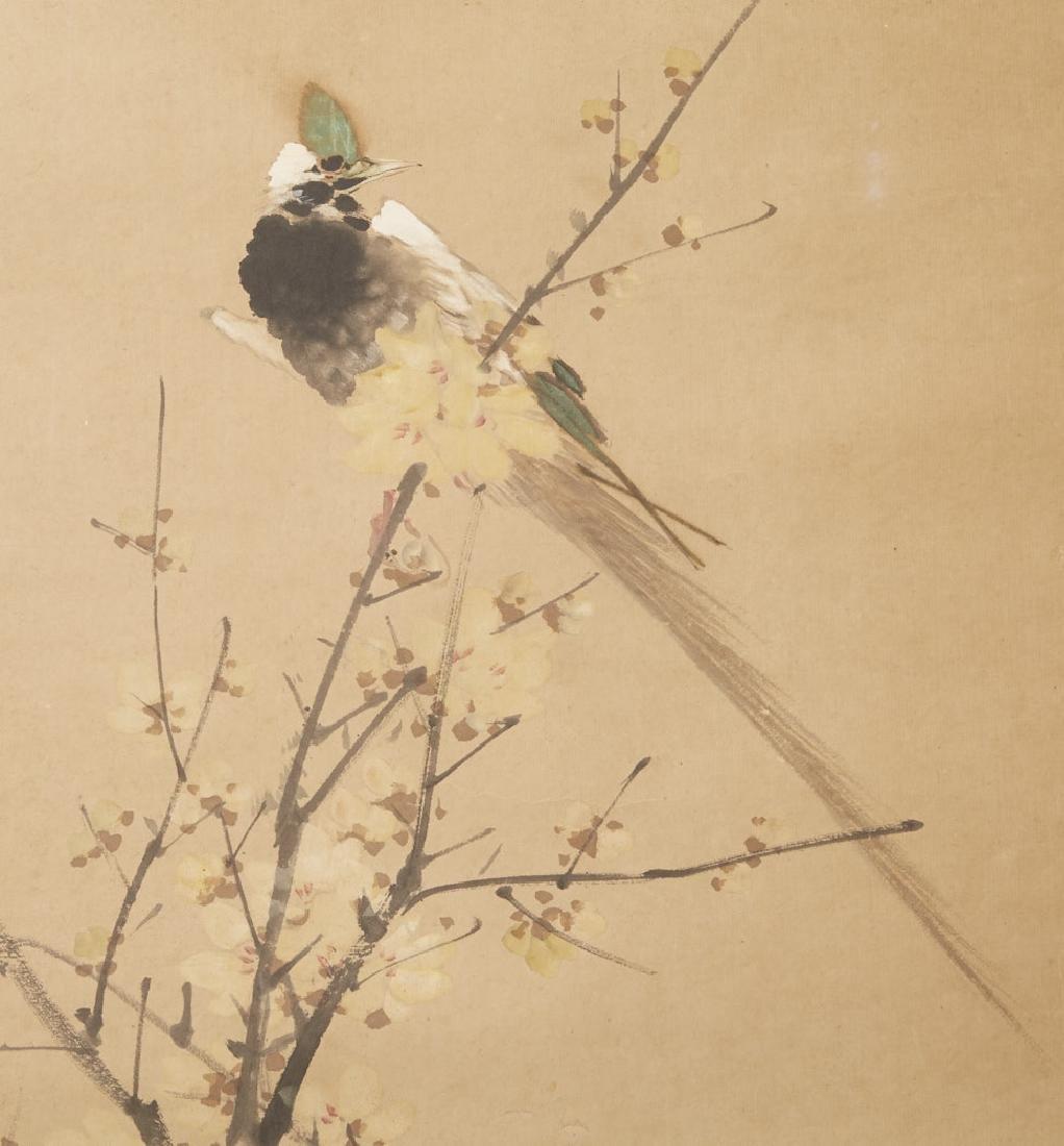 4 Chinese Scroll Paints. of Seasons: Zhao Ruhu-BTC Acpt - 3