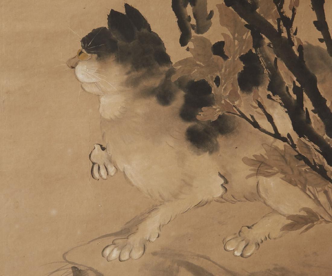 4 Chinese Scroll Paints. of Seasons: Zhao Ruhu-BTC Acpt - 7