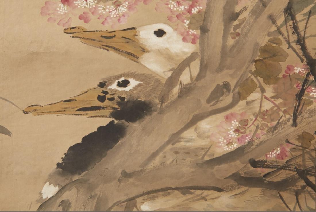 4 Chinese Scroll Paints. of Seasons: Zhao Ruhu-BTC Acpt - 9