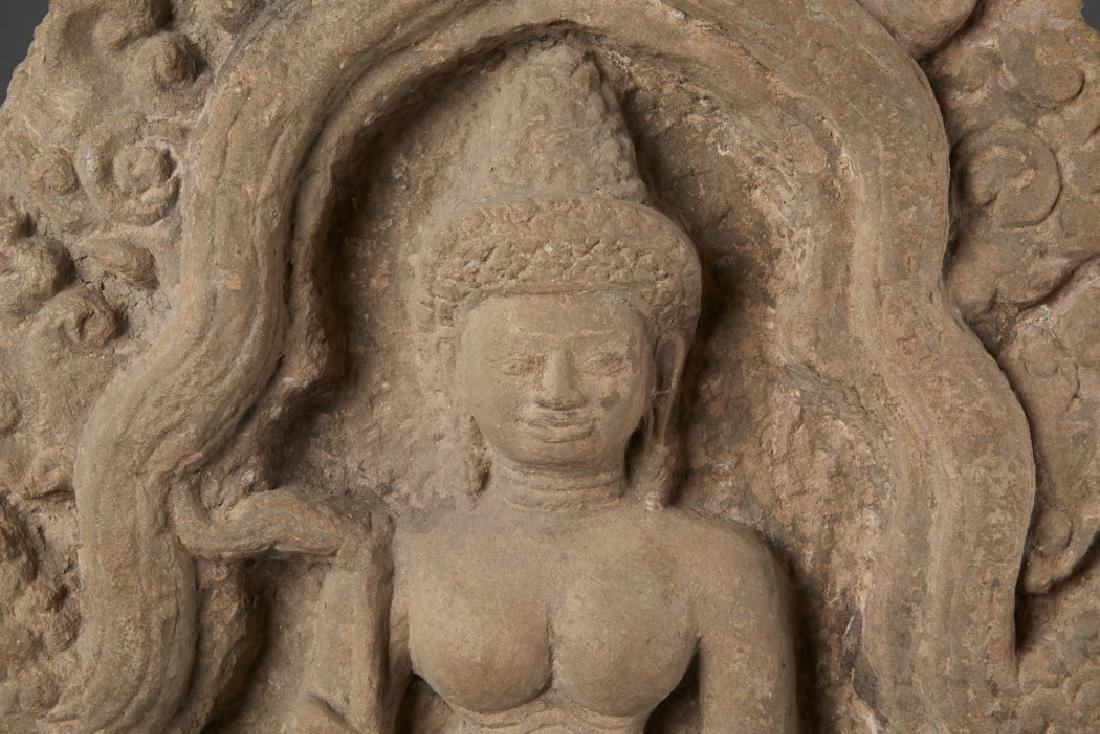 Southeast Asia Possible Burma Bas Relief Sandstone - 2