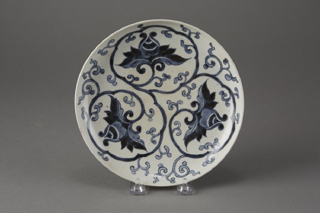 Early 19th C. Japanese Arita Dish as Nabeshima